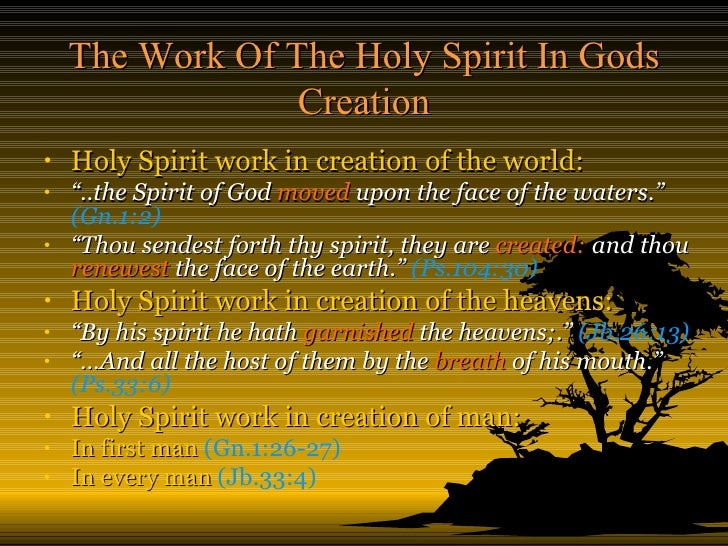The work of the holy spirit the work of the holy spirit thecheapjerseys Gallery