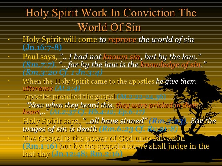 the work of the holy spirit When we consider the doctrine of the holy spirit, a strange paradox confronts us on one hand, we find silence in many theological works, with only a passing reference to the subject in connection with the question of the trinity.