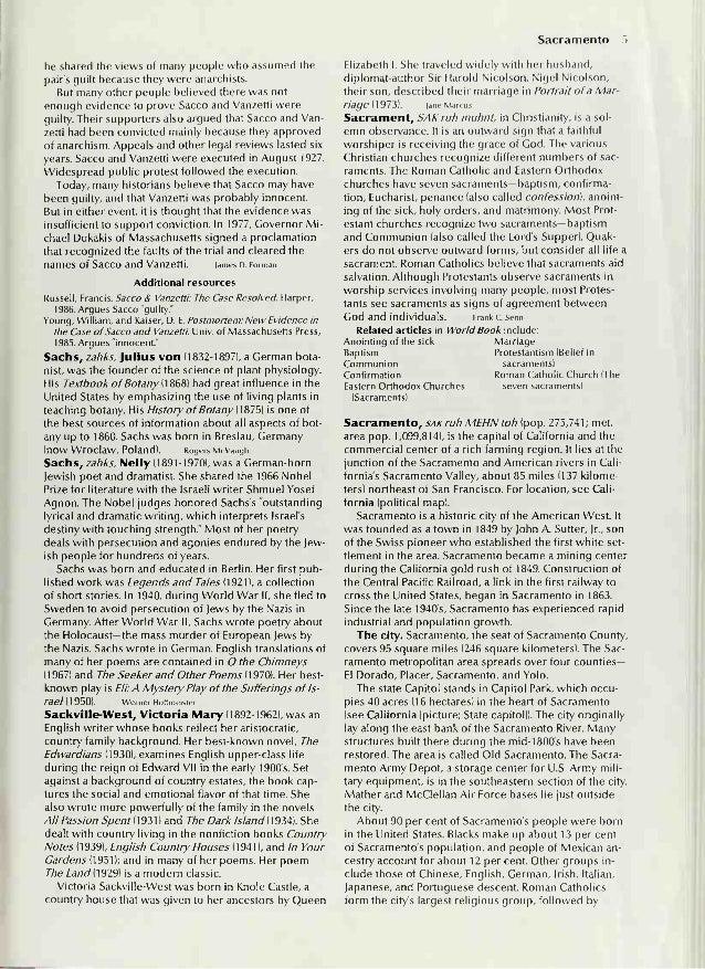 The World Book Encyclopedia S–SN