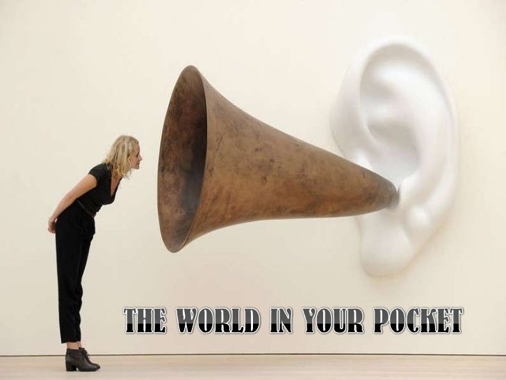 THE WORLD IN YOUR POCKET<br />