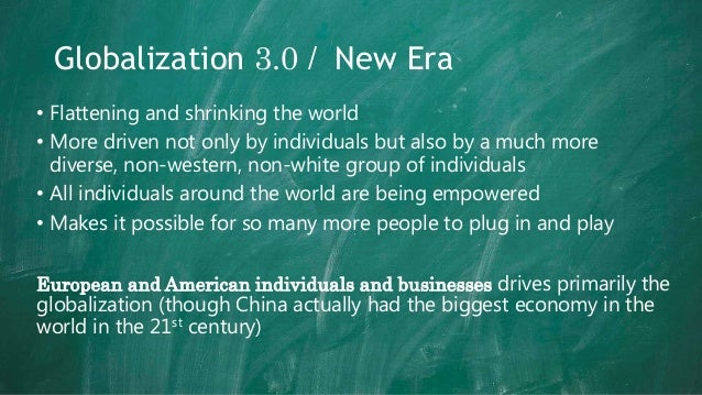 friedman flat world essay 2 what are the potential impacts of a flat world for a student performing a job search in a flat world it is far more difficult to get a job because competition will be increasing at an incredible rate.