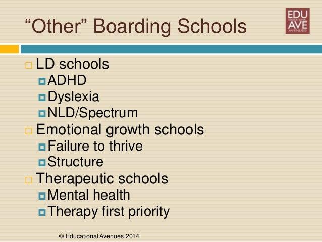 The World Of Boarding Schools