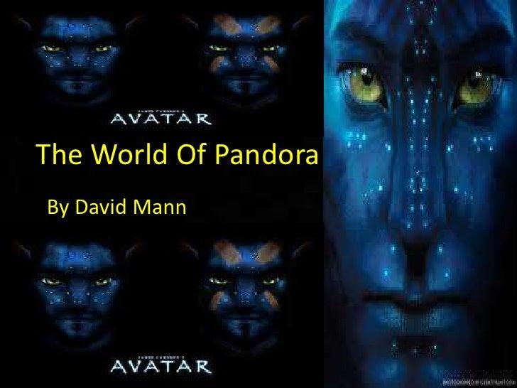The World Of PandoraBy David Mann