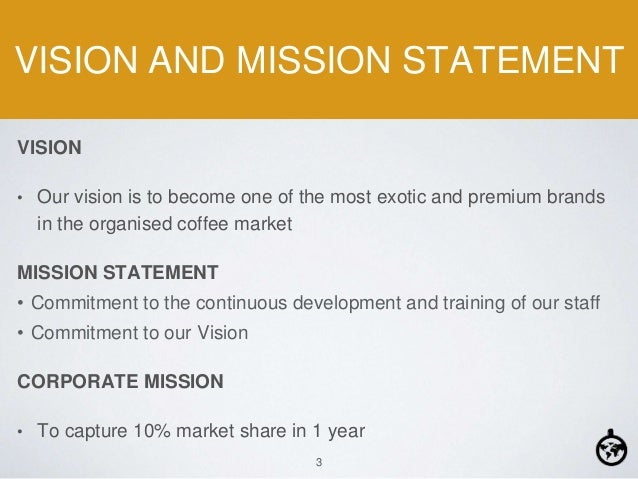 vision statement of dunkin donuts Strong comparable sales growth in the us drives q1 revenues for dunkin' brands trefis team, contributor dunkin' brands (nasdaq: dnkn) delivered strong numbers in its first fiscal quarter earnings report for the fiscal 2015 dunkin donuts us.