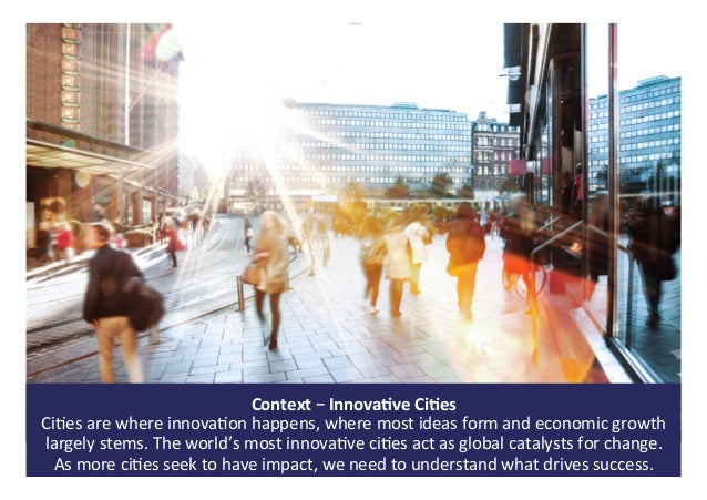 The world's most innovative cities   past present and future - 01 sept 2017 Slide 2