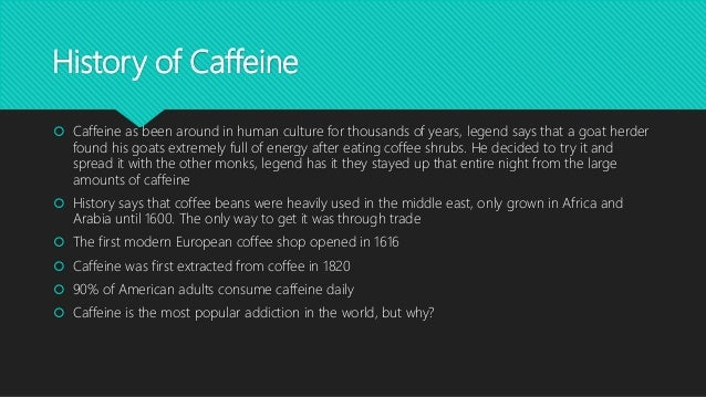 What is caffeine addiction? | eNotes