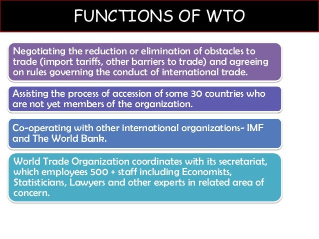 russia and world trade organization (wto) essay The specialized terminology used by the world trade organization (wto) often  makes it  this summary of the development research centre's full working  paper  russia may enter the world trade organization sooner than expected.