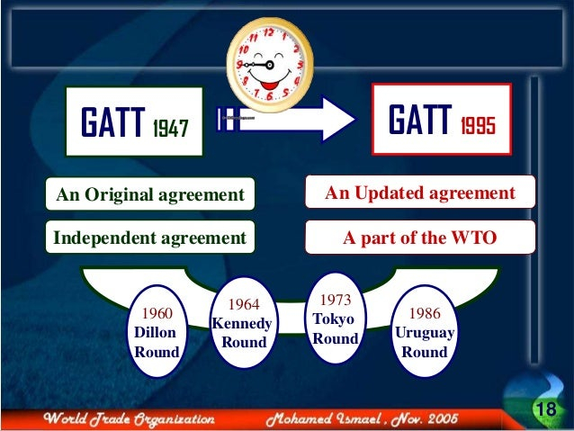 wto and gatt