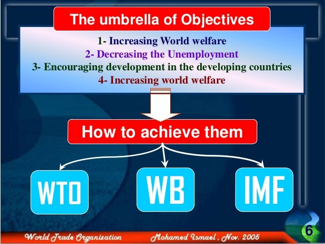 the benefits of wto to the world The collapse of the ministerial meeting of the world trade organisation (wto) in september has impeded global trade talks and made their conclusion increasingly difficult and uncertain.