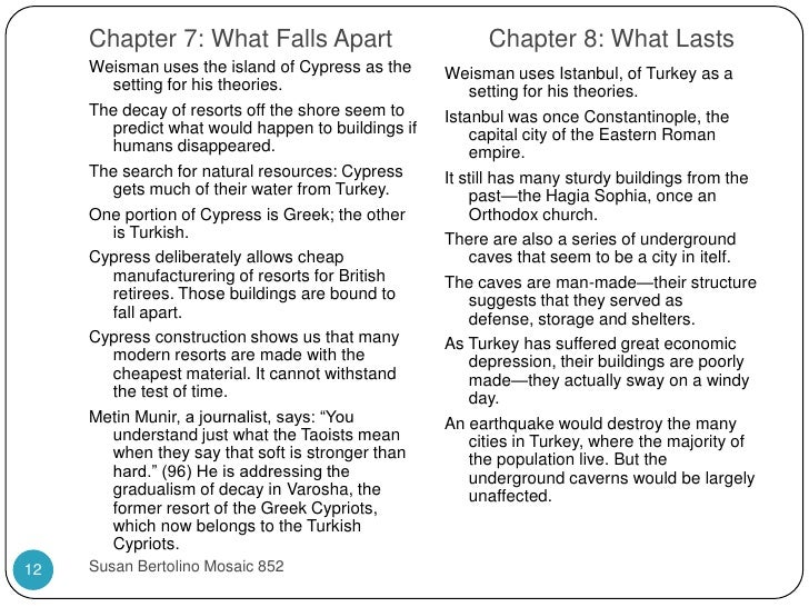 things fall apart critical response essay Colonization relates to the the book when things fall apart because they both include foreign people coming into a different area and upsetting society and disturbing the social order foreigners changed everything that held them together and things fell apart.