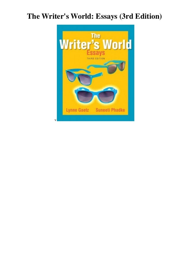 the canadian writers world paragraphs and essay The canadian writer's world: paragraphs & essays, 2nd canadian edition, builds on the success of lynn gaetz, suneeti phadke, and rhondathe canadian writer's world: paragraphs and essays plus mywritinglab lynne gaetz, college lionel-groulx suneeti phadke, stparagraphs canadian essays world writers the edmonton and kijiji.