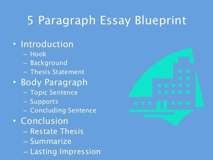 Blueprint thesis essay writing