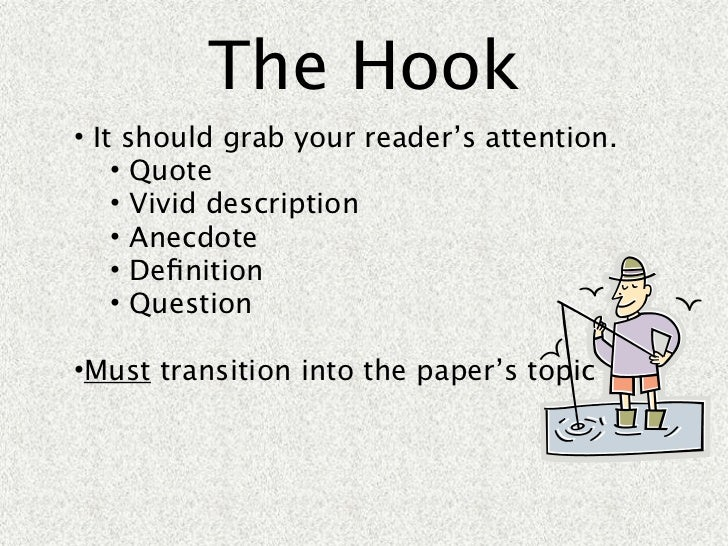essay with quote as hook
