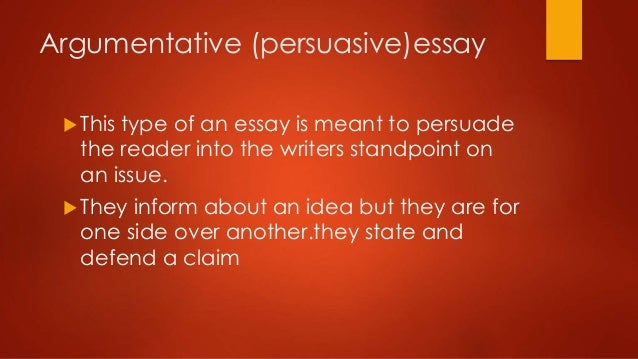 writing experential essay