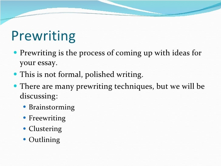 Custom term paper writing process ppt