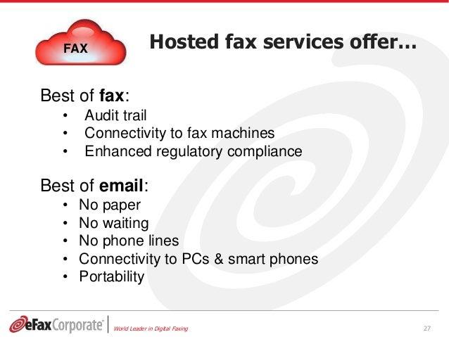 corporate fax