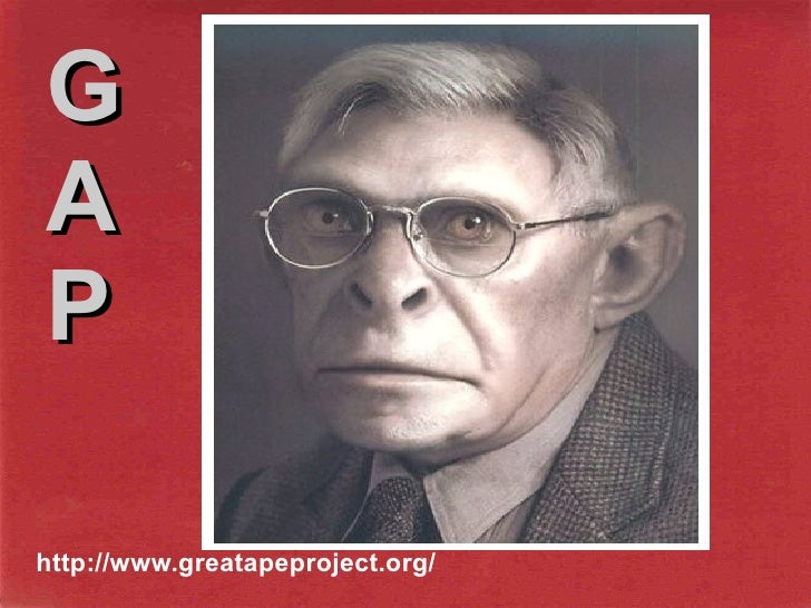 http://www.greatapeproject.org/ G A P