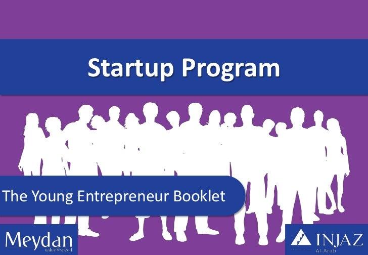 Startup ProgramThe Young Entrepreneur Booklet