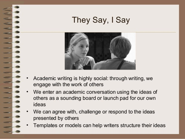 they say i say the moves that matter in academic writing third edition