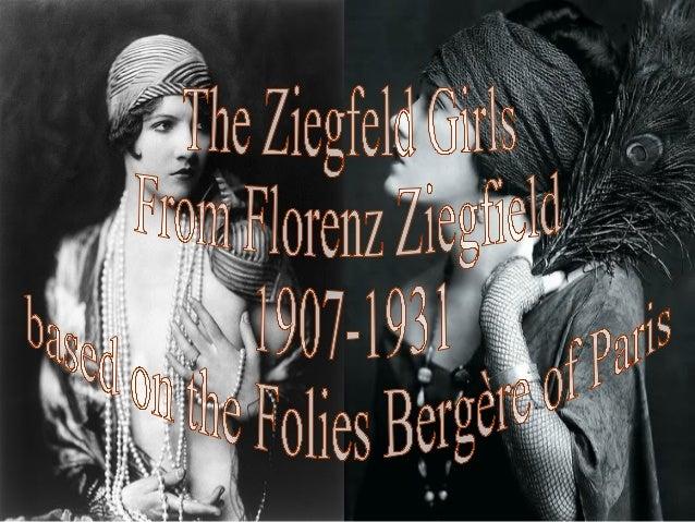 The ziegfeld girls (catherine)
