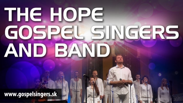 The Hope Gospel Singers and Band slideshow 2012