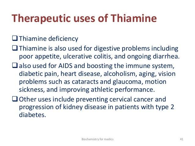 Thiamine pressure support