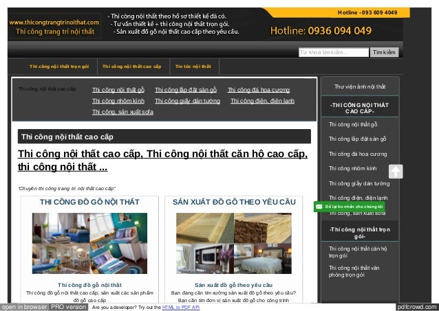 pdfcrowd.comopen in browser PRO version Are you a developer? Try out the HTML to PDF API Thi công nội thất cao cấp: Thi cô...