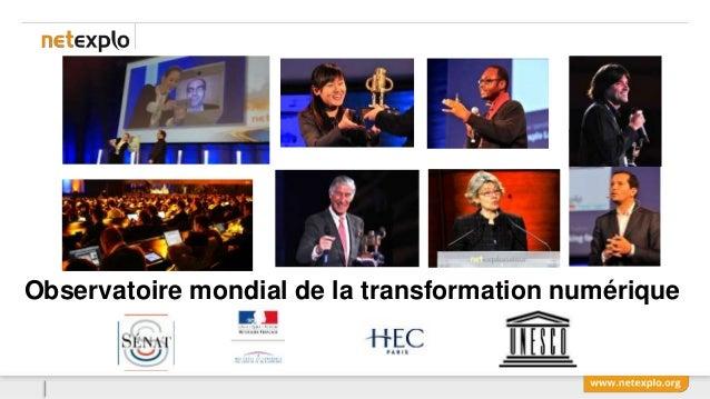 Observatoire mondial de la transformation numérique