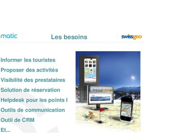 TpM2013: Thierry Pilet, Geomatic : E-Tourisme: un panel de solution de communication au service de la promotion globale et locale. Comment promouvoir l'économie locale? Slide 2