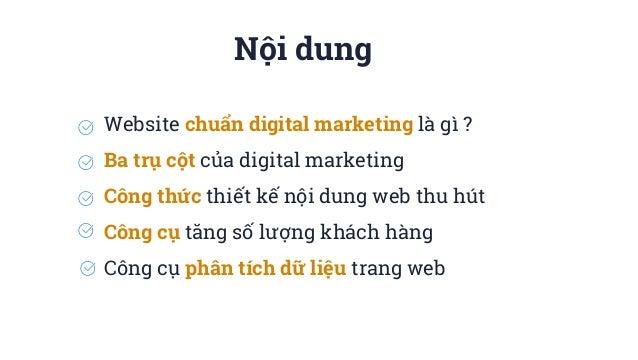 Thiết Kế Web Chuẩn Digital Marketing Slide 2
