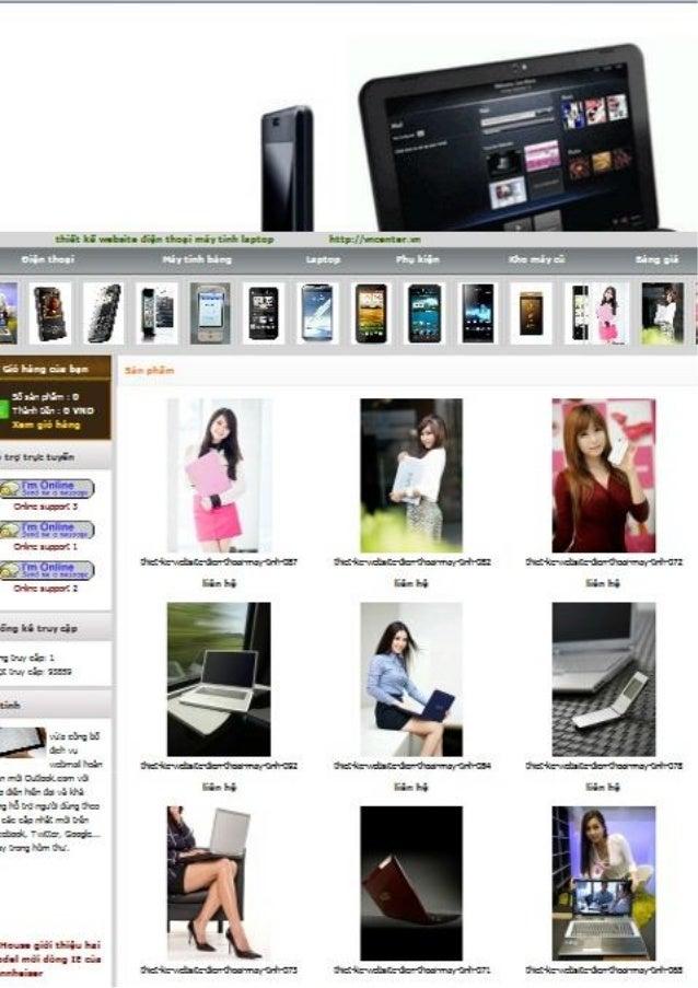 Thiết kế website chuyên nghiêp vncenter.vn