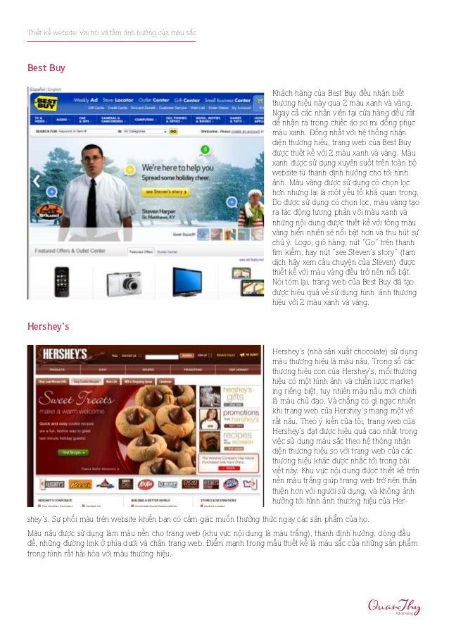 Thiết kế website: Vai trò và tầm ảnh hưởng của màu sắcBest Buy                                                            ...