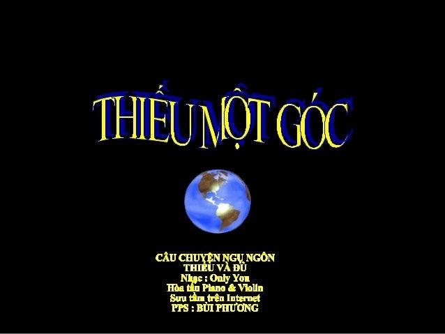 Thieu Mot Goc - Bui Phuong