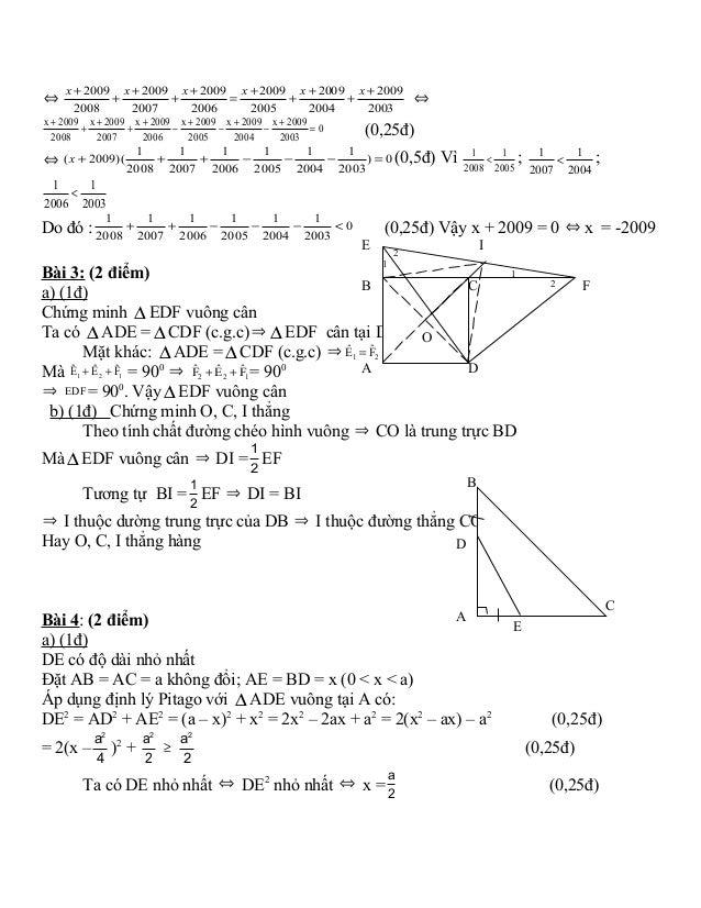 đề Thi hsg toán 8 có đáp án Slide 3