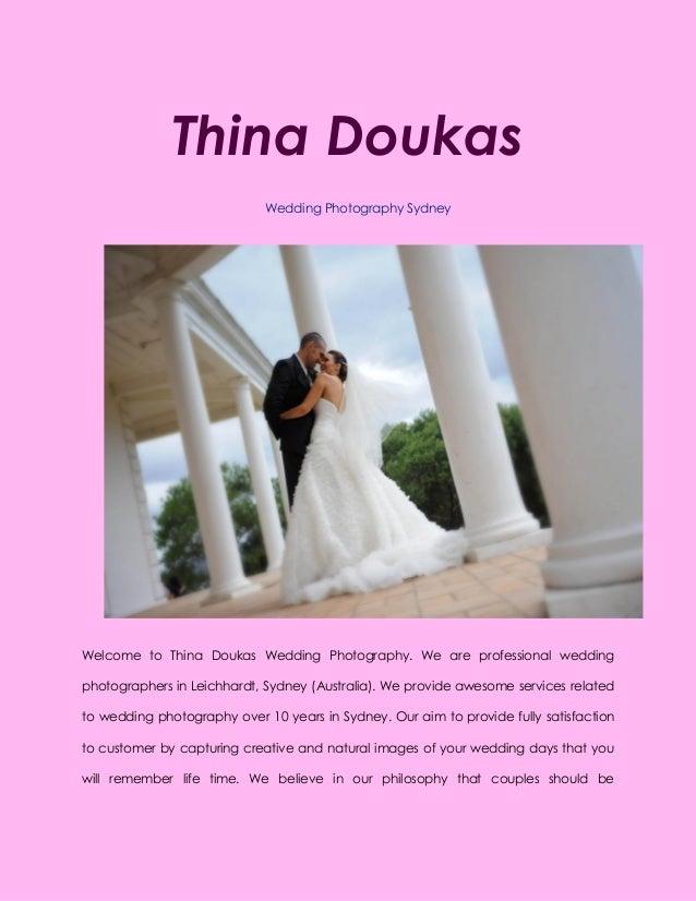 Wedding Photography Sydney by Thina Doukas - Best Photographer