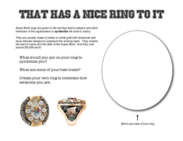 Super Bowl rings are given to the winning team's players and other members of the organization to symbolize the team's vic...