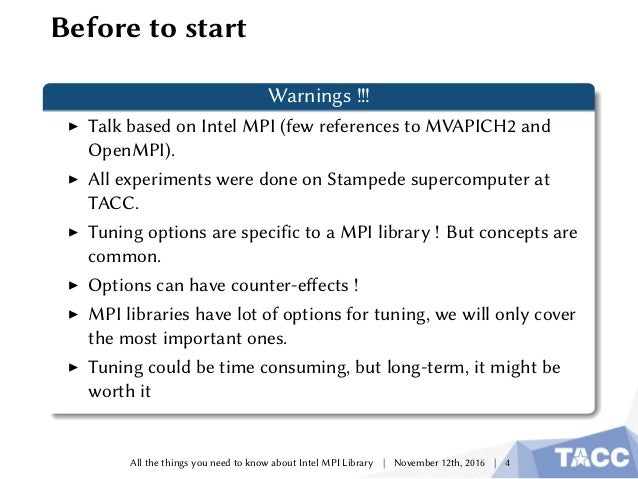 Everything You Need to Know About the Intel® MPI Library