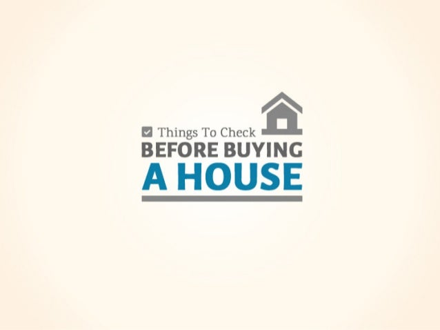 fl Things To Check BEFORE BUYING  A HOUSE