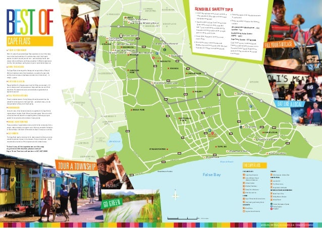 Things to do in Cape Town Detailed Maps