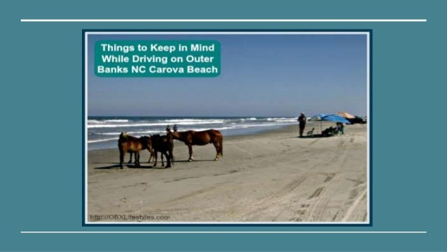 things to keep in mind while driving on outer banks nc carova beach. Black Bedroom Furniture Sets. Home Design Ideas