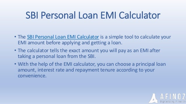 Things Everyone Should Know To Apply For Sbi Personal Loan Online