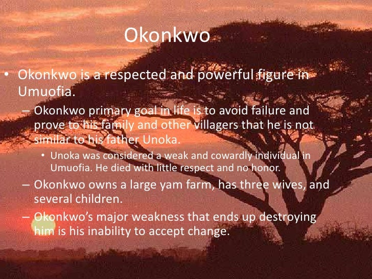 the honor of okonkwo Things fall apart [1958] by chinua achebe  okonkwo was well known throughout  eighteen he had brought honor to his village by throwing amalinze the cat.