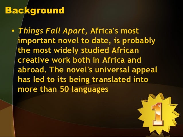 critical essays on things fall apart These papers were written primarily by students and provide critical analysis of things fall apart by chinua achebe things fall apart essays are academic essays for citation these papers were written primarily by students and provide critical analysis of things fall apart by chinua achebe.