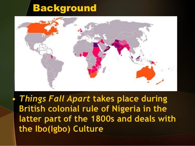 Differences in culture and society in the novel things fall apart by chinua achebe