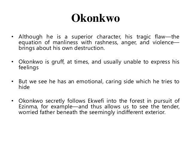 okonkwo the hero essay Things fall apart essay  okonkwo was a true tragic hero as he had all the qualities of a tragic hero as prescribed  documents similar to okonkwo as a tragic hero.