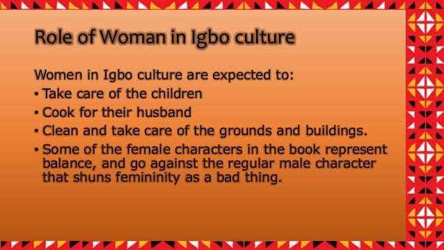 the role of women in igbo