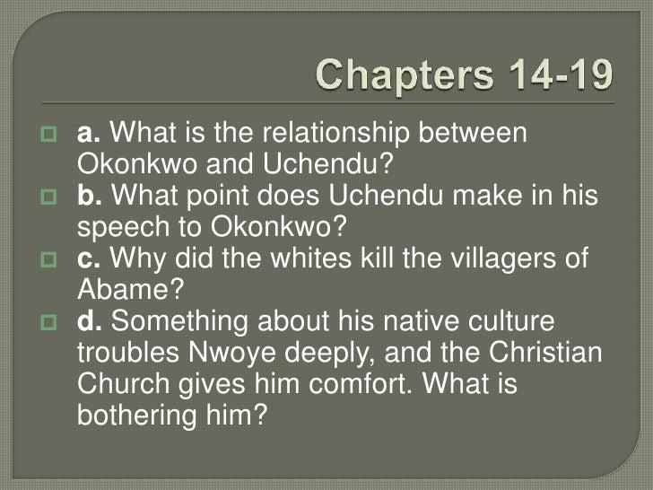 okonkwo and nwoye relationship trust