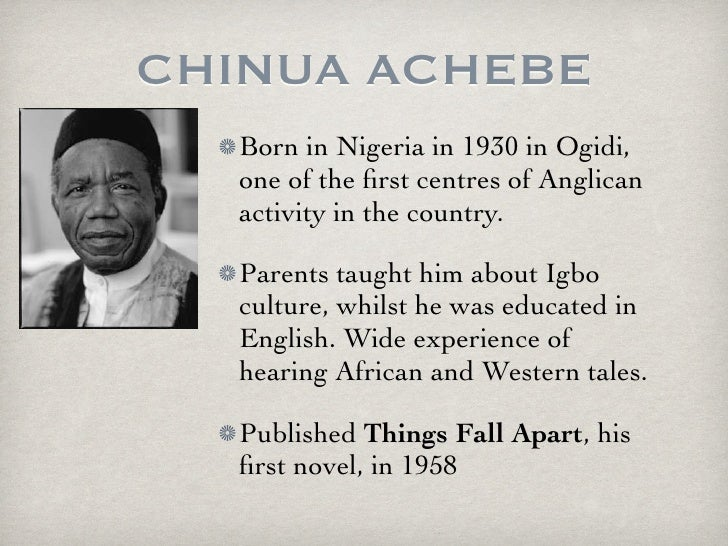 imperialism things fall apart Things fall apart an important african novel by chinua achebe, is one of the  greatest classics of its time the book involves the clash of.
