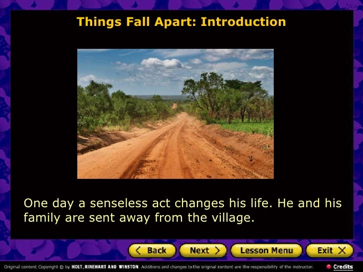 Nwoye things fall apart essay