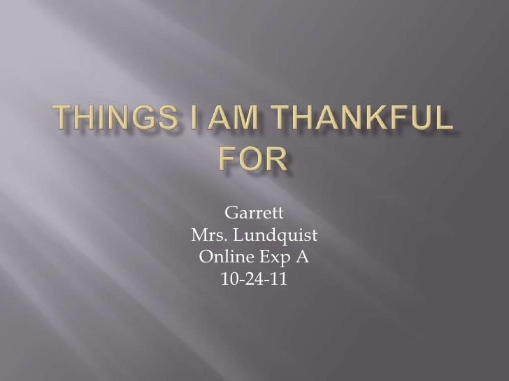 GarrettMrs. LundquistOnline Exp A   10-24-11